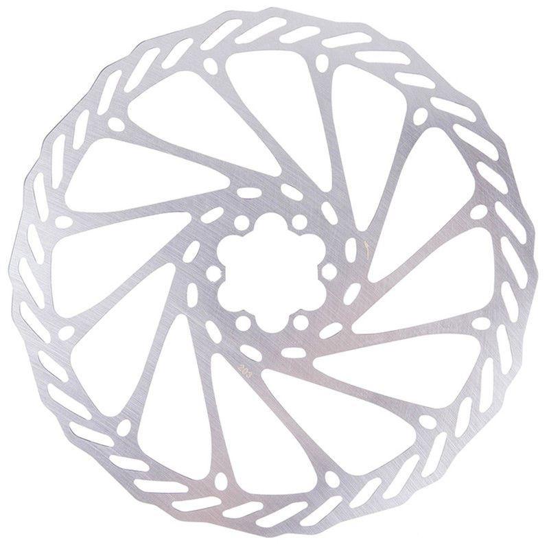 Fahrrad Mountainbike Mountainbike Edelstahl Bremsscheibe Rotor 203 mm mit 6 X3E8