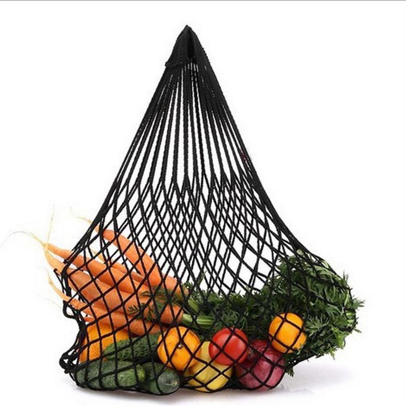 Einkaufsnetz Netze Tasche Kartoffelsack aus Bio-Baumwollschnur ver G6Z2