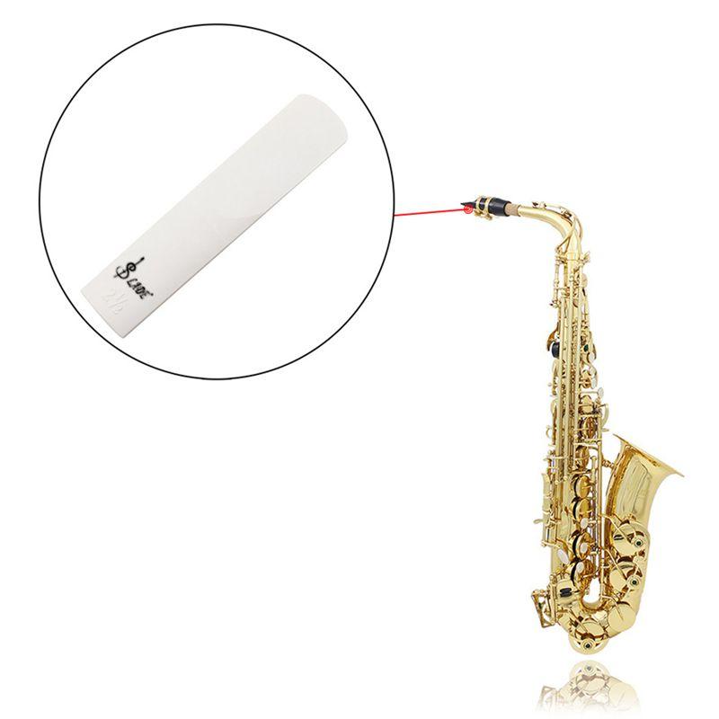 1X ABS Reed Staerke 2.5 fuer Alt Saxophon Sax Zubehoer J9U7