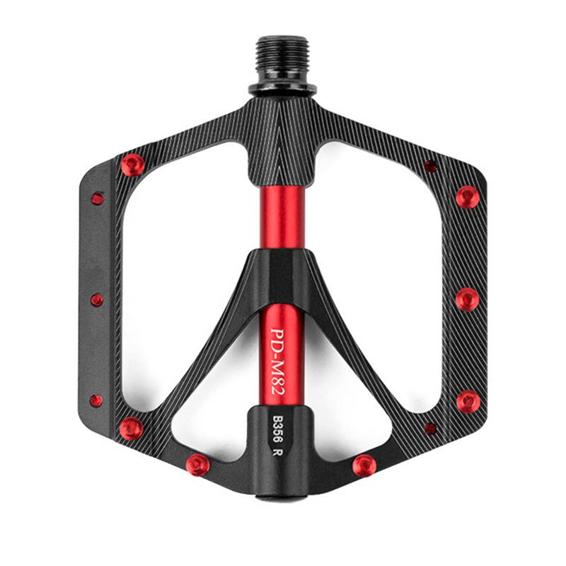 3X Radsport Fahrradteile & -komponenten PROMEND Mountainbike Aluminiumlegierung Lager Pedal leichte grosse Lauff I5W2