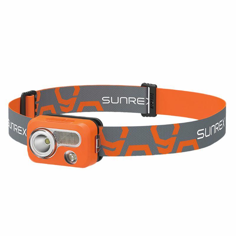10X (Sunree Impermeable IPX7 Senderismo Camping Lámpara luz principal LED portátil S2O4)