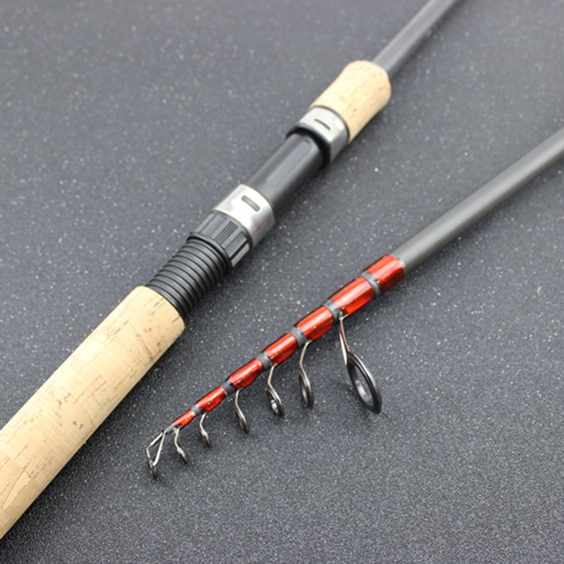 Carbon M power lure 3.5g 25g Portable Telescopic Fishing Rod Spinning Fish E9A1
