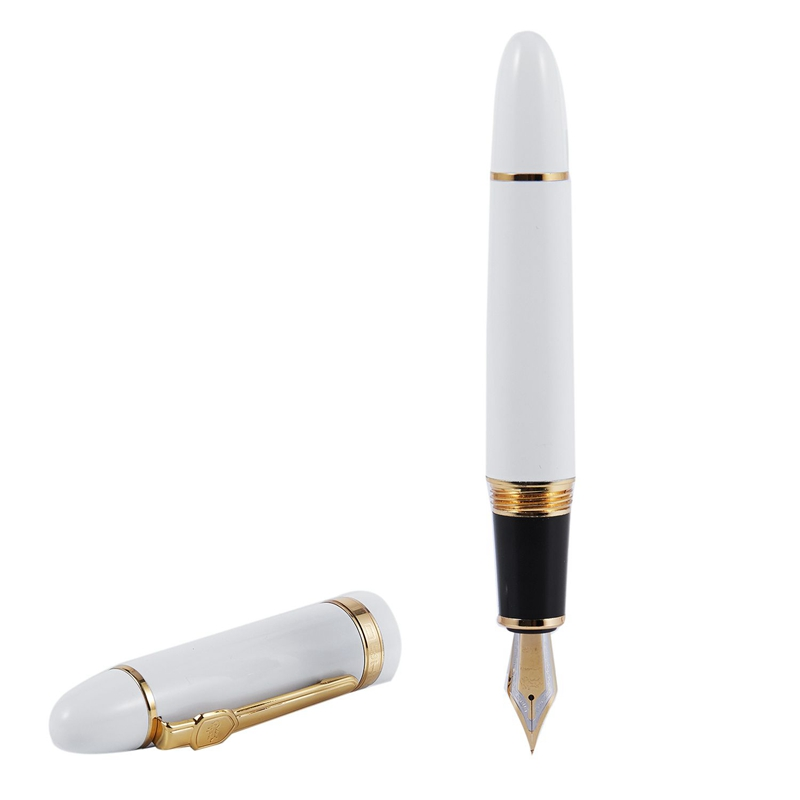 JINHAO 159 18KGP 0.7mm MITTLERE BREITE NIB BRUNNEN STIFT frei Buero Fuellfe M8N9