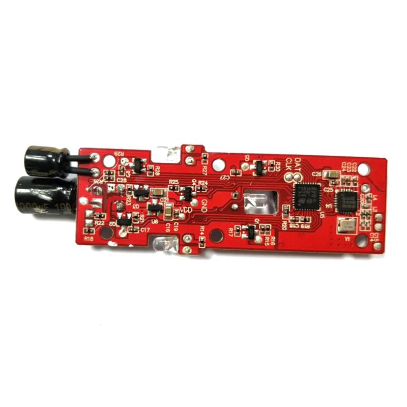 8X(JJRC Original H61 - 06 Receiver Module Board for H61 - RED T3C8)