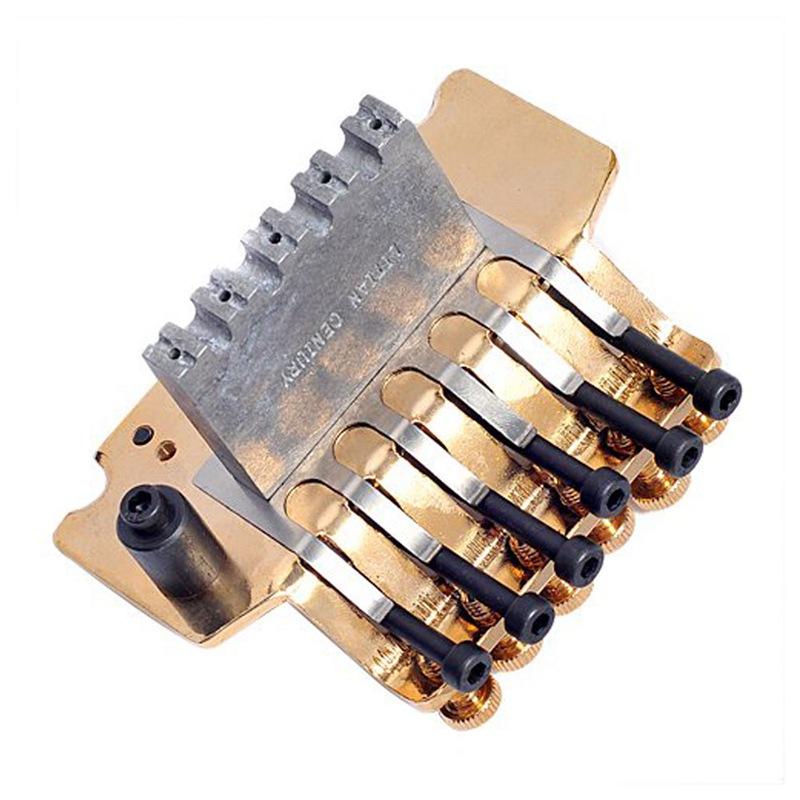 2X (paquete de 1 1 1 puente trémolo Floyd rosado oro Guitarra piezas sistema Q4U4) acda43