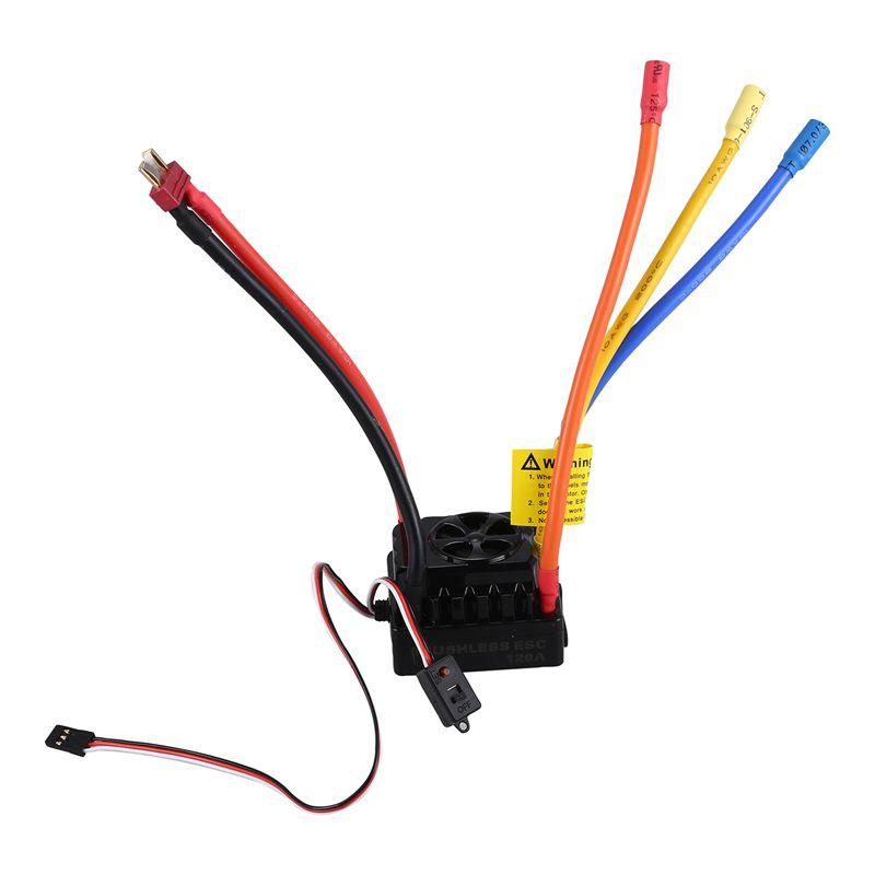 SURPASS Hobby 4076 Sensorless 2000KV motor sin escobillas y 120A Brushless ESC w N6R1