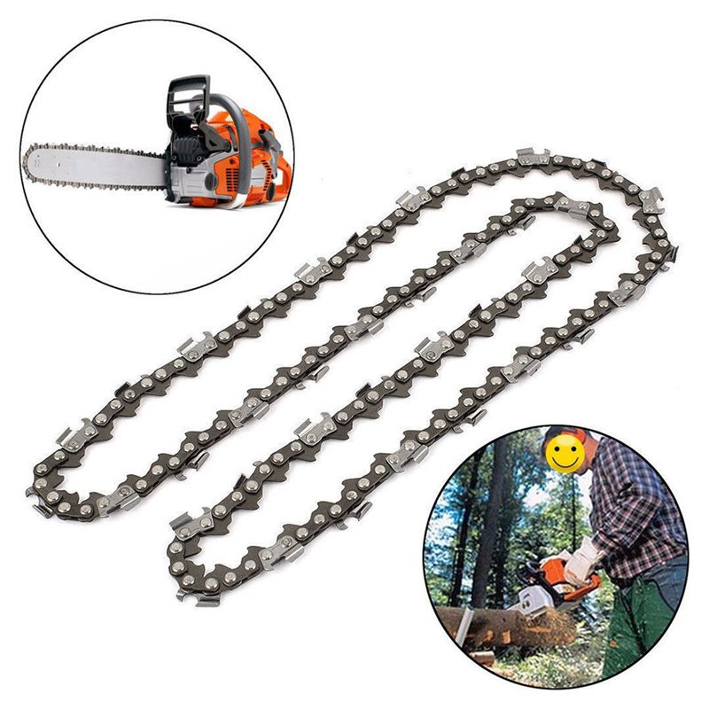 16in Chainsaw Chain Blade Wood Cutting Chainsaw Parts56Drive Links 3//8 .050 B8C7