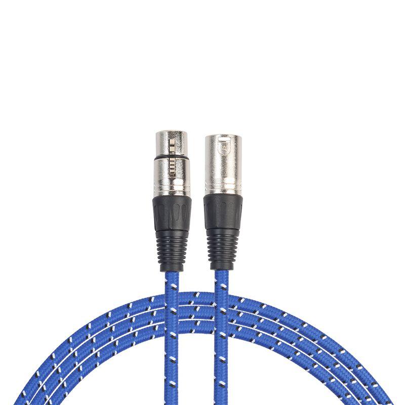 Connecteur Audio Microphone 5 broches XLR Male a Femelle Microphone Cable Aud SC