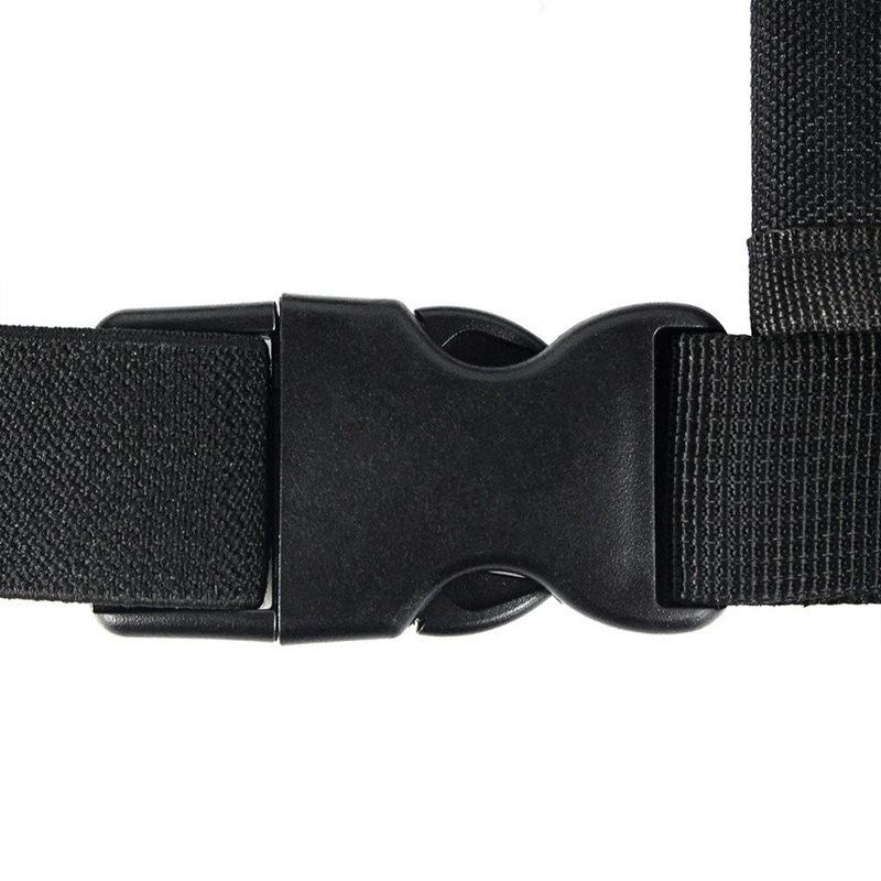 Radios Pocket Radio Brust Harness Brust Vordertasche Holster Weste Rig Trag R7Q3