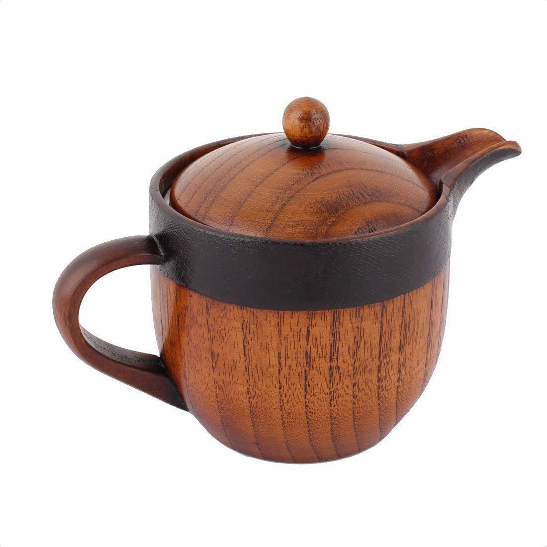 Деревянный настольный чайник