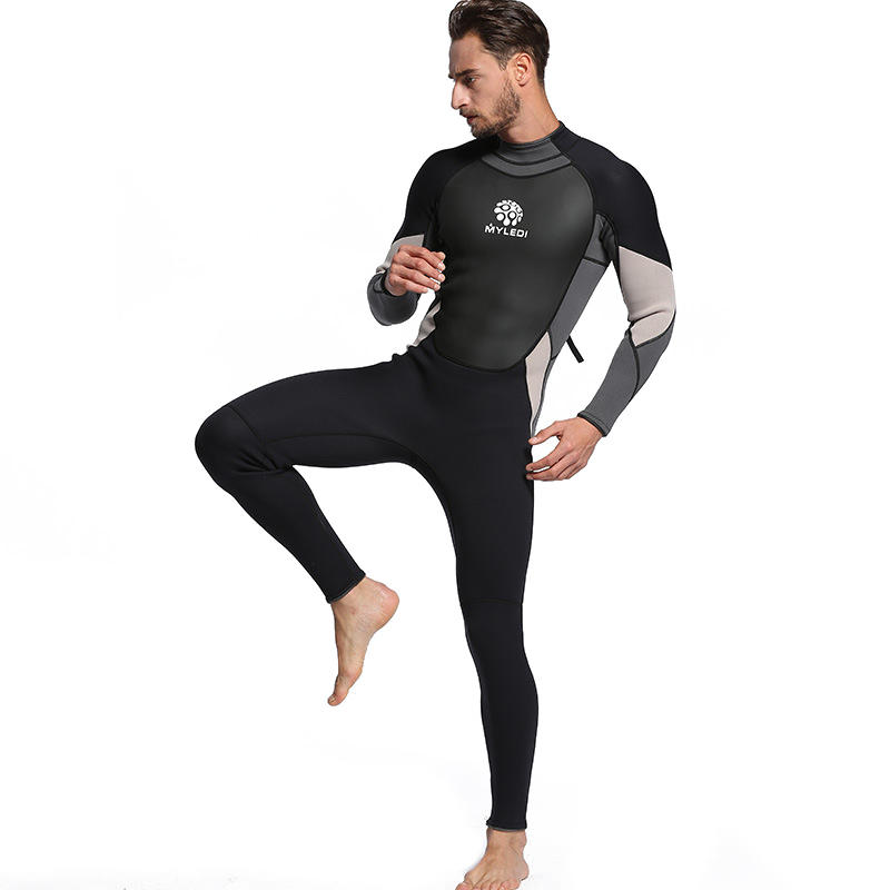 3mm One Piece Diving Suits Waterproof Suit Wetsuit Surfing Suit (MY028 ) M4B1