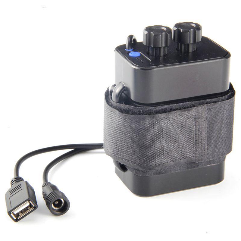 8X 6 sezione 18650 Batteria Casella 18650 pacco batteria 5 VUSB8.4VDC DUAL INTERF Y8K9