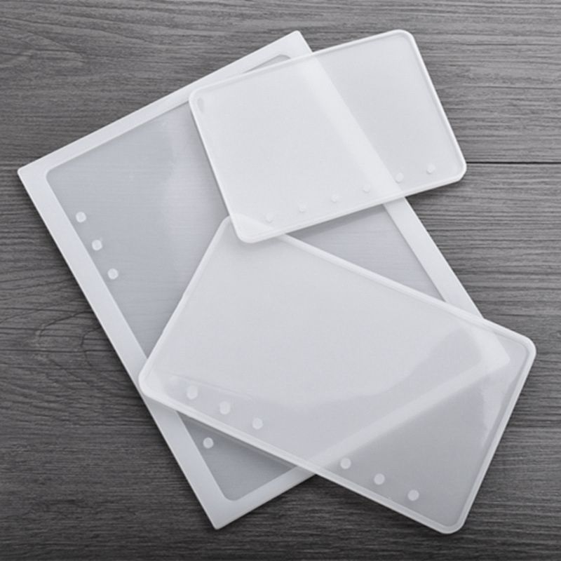 Notebook Shape Silicone Mold DIY Resin Book Mold Crystal Epoxy Silicome Mol D9U1