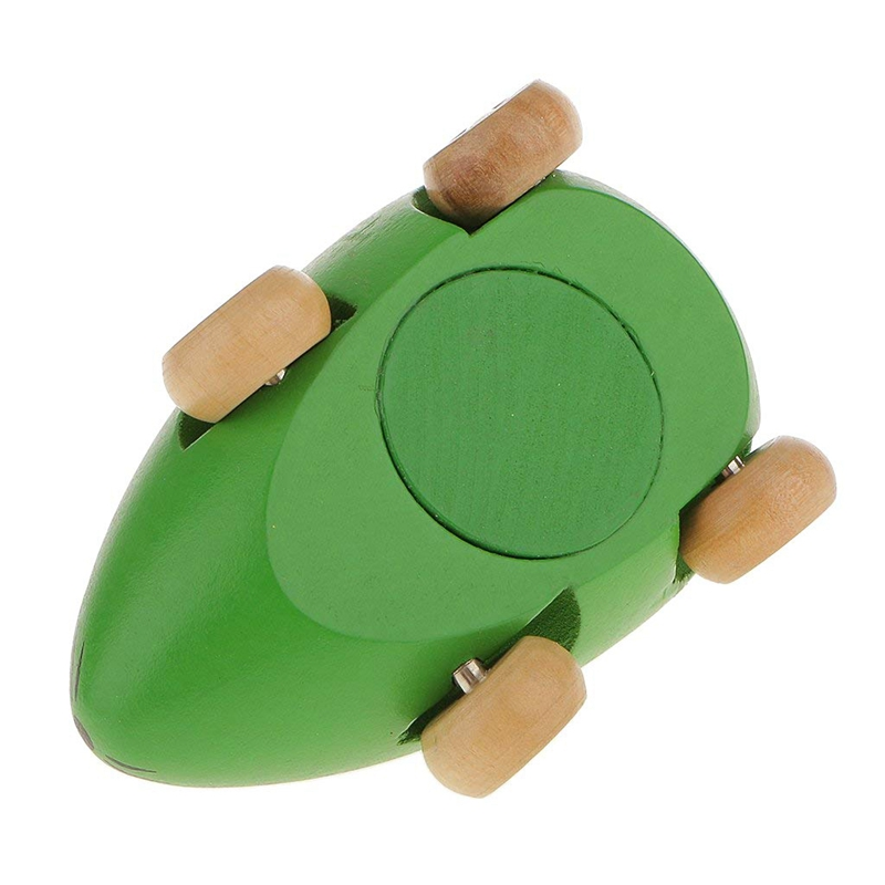 Children Baby Toys Mini Wooden Sound BB Mouse Car Shape Model P4V8 1X