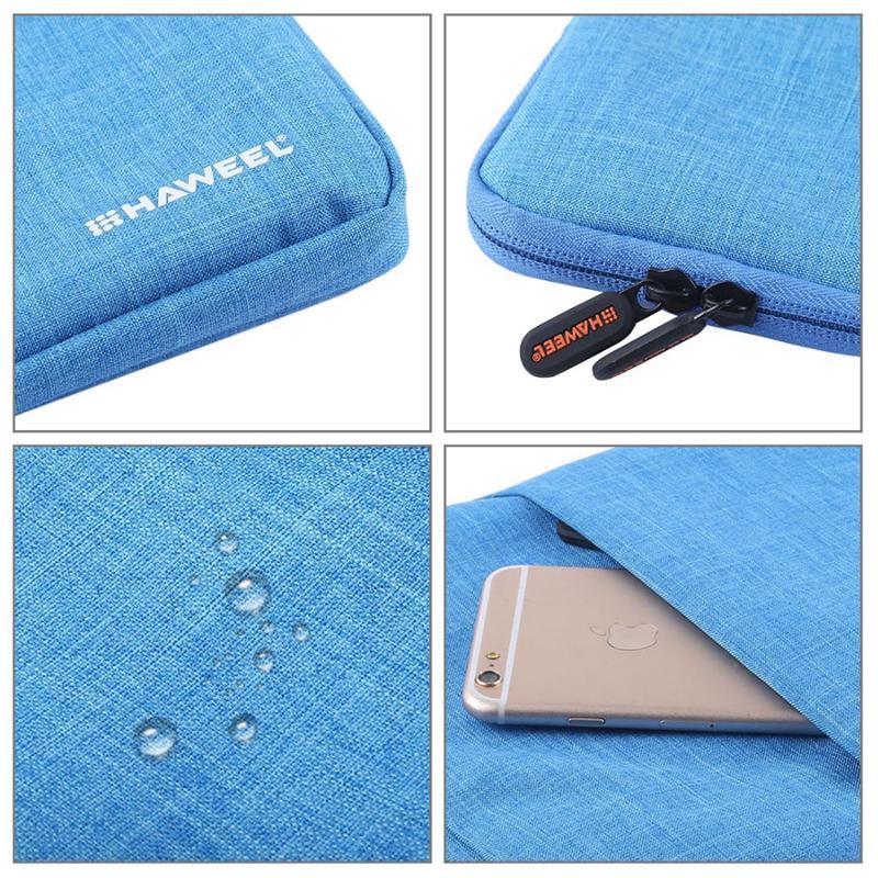 HAWEEL Laptop Tasche fuer Macbook 15,0 Zoll Huelle Reissverschluss Aktentas Q3E2