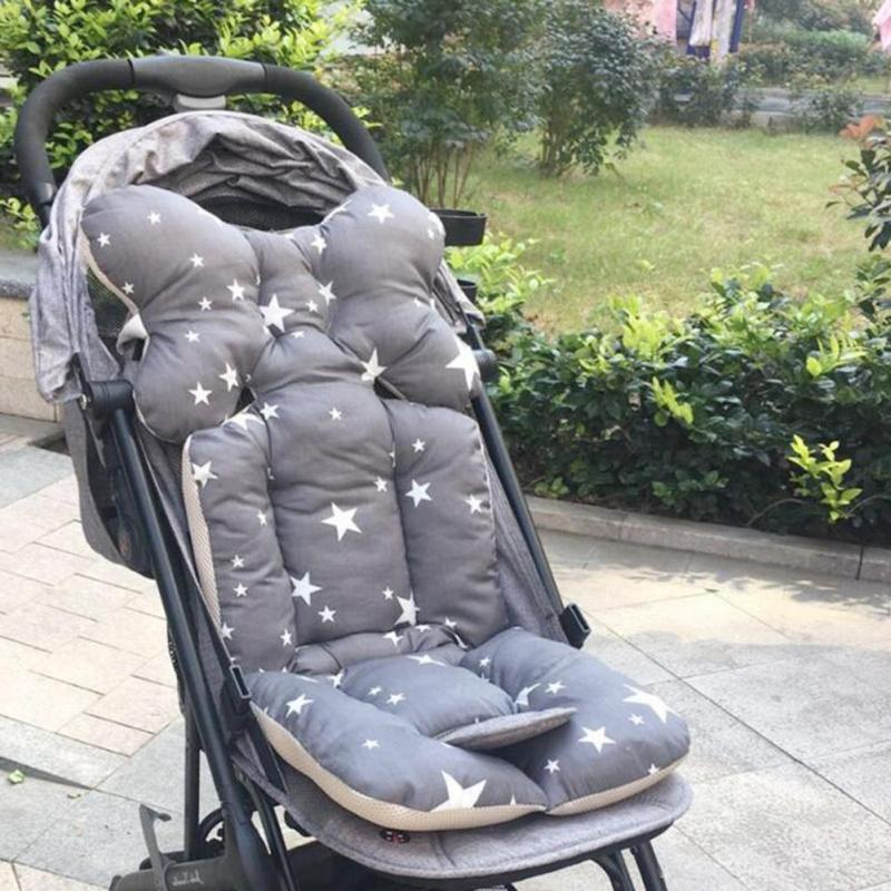 Baby Druck Kinderwagen Baby Sitzkissen Warm Kissen Matratze Kopfkissenbezug B3X4