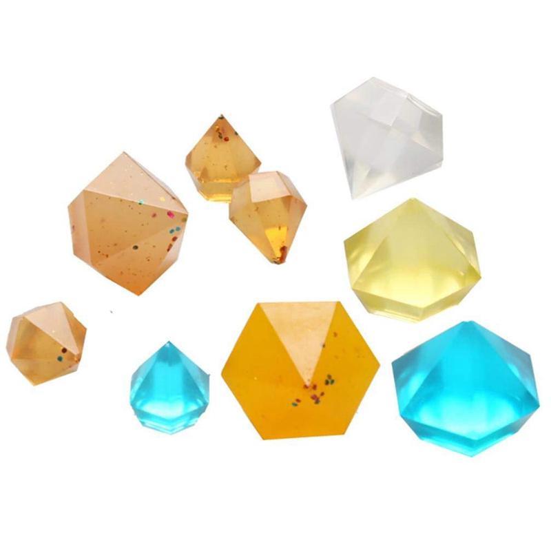 Diamant Diy Silikon Schablone Handwerk Form Form Halskette Schmuck Harz Anh D7E5