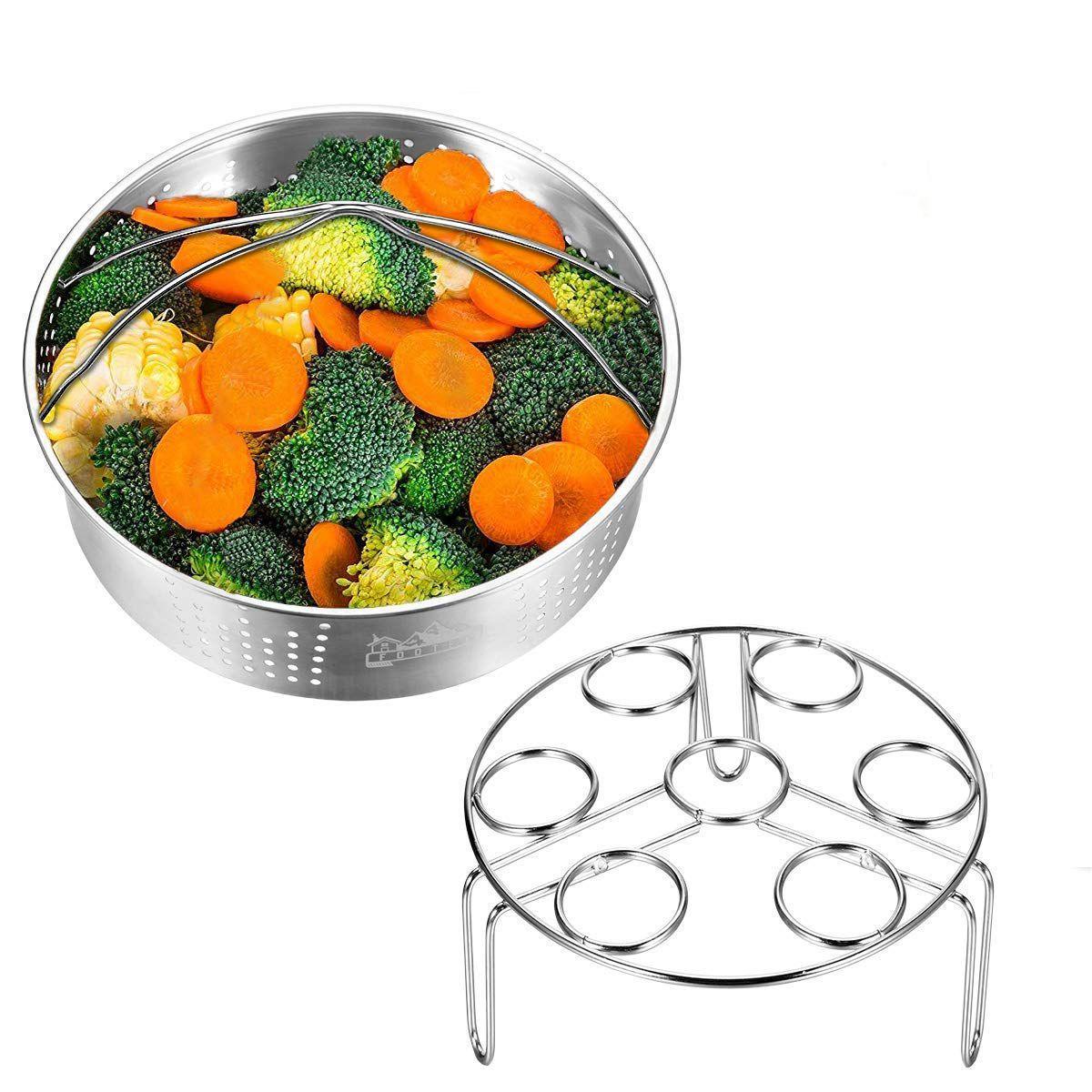 Паровая корзина с яйцевым паром для моментальной и напористой фурнитуры с овощным паром соответствует 5,6,8 кВт давление повары 2 штуки