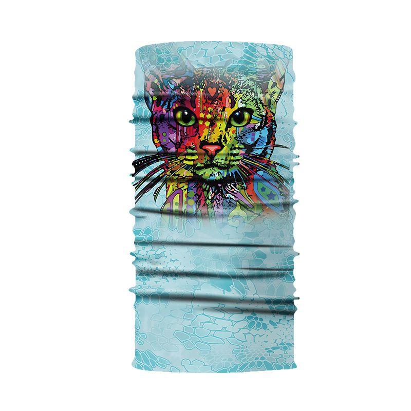Kopfbekleidung 3D Magisches Handtuch Digitaldruck Sonnencreme Reitkragen Magisches Kopftuc Y8P3