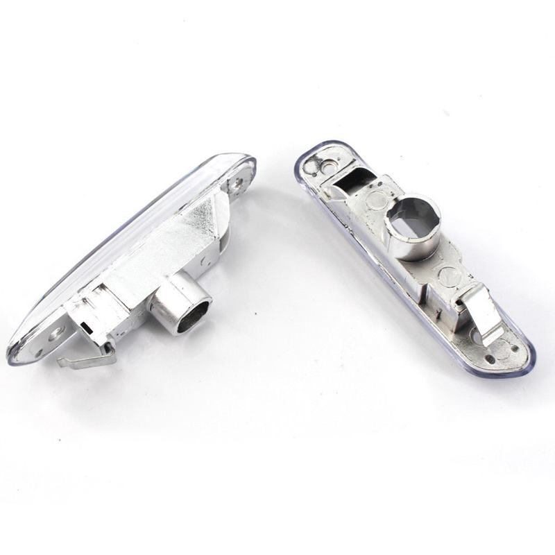 2 Pcs Clear Lens LED Side Marker Car Lights For BMW 3 Series E46 4 Door 199 D7Z7