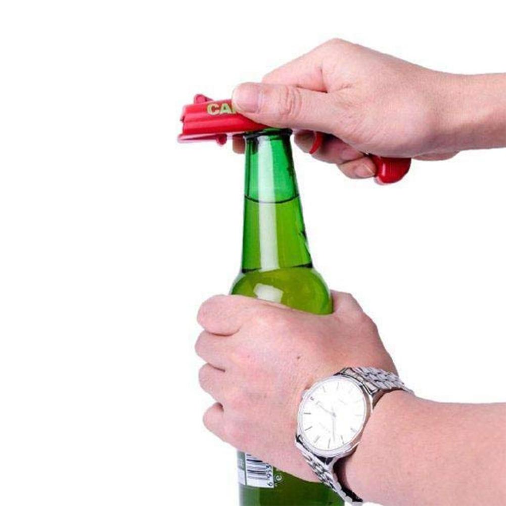 Bier Flaschen Öffner,Bier Getränk Flaschen Öffner Deckel Launcher Cap Gun L S2K1