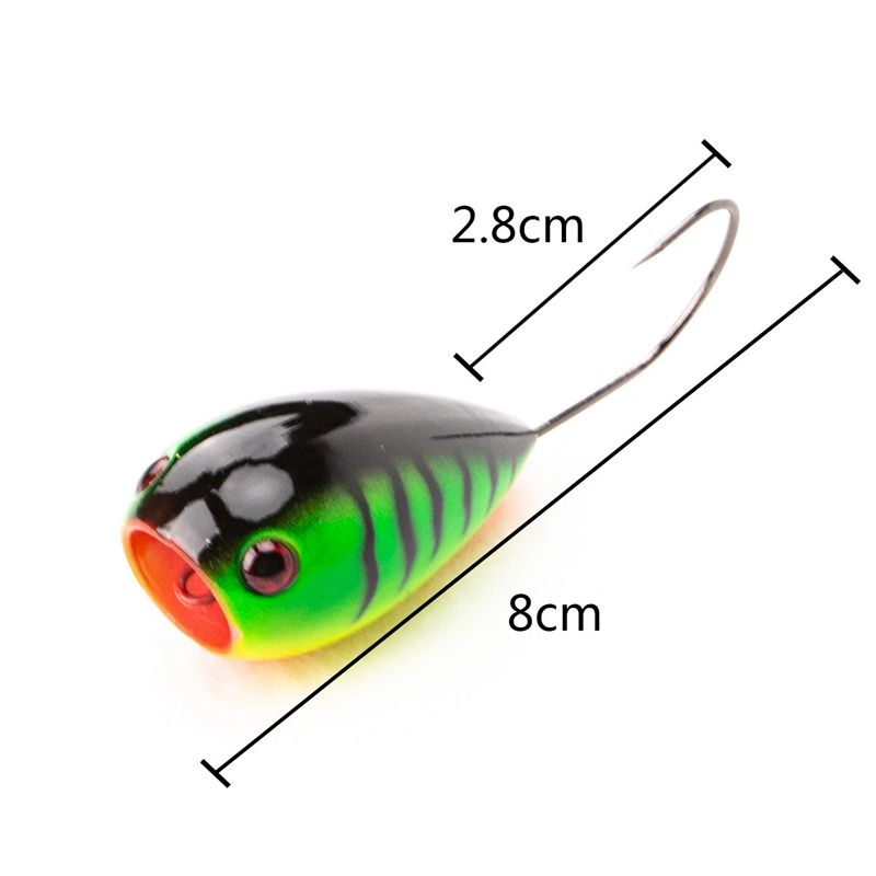 Fishing Lure 80mm 19.5g Floating Croatian EGG Bait Crank Bait Artificial Sw G1N6
