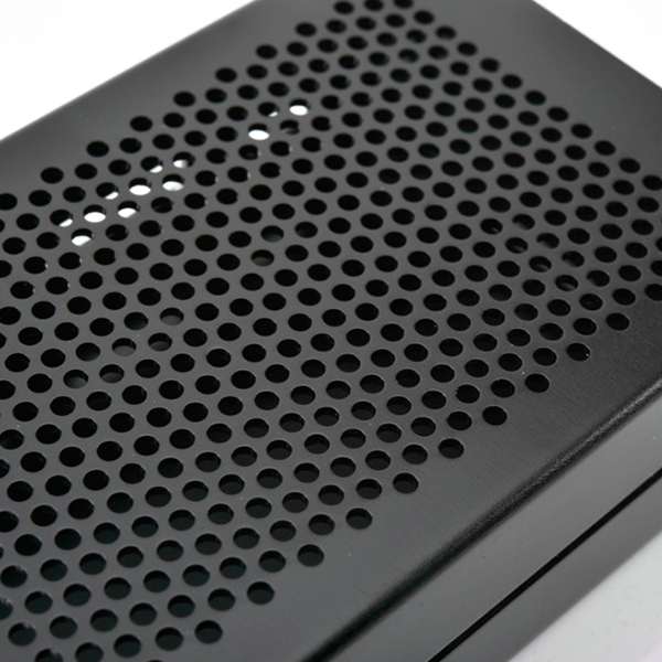 Gehäuse Aluminium Gehäuse Kompatibel mit Raspberr F6E5 Raspberry Pi 3 Modell B