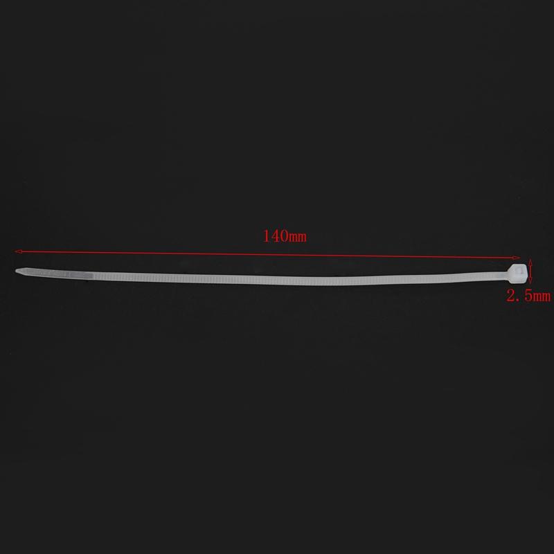 Cable Ties Cable Tie Wraps Zip Ties Size:140 mm x 2.5 mm Y7K3