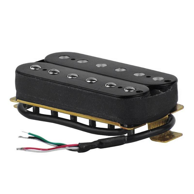2X Elektor Gitarren Doppel Spule Ton Abnehmer V Ton Abnehmer Schwarz P3G7