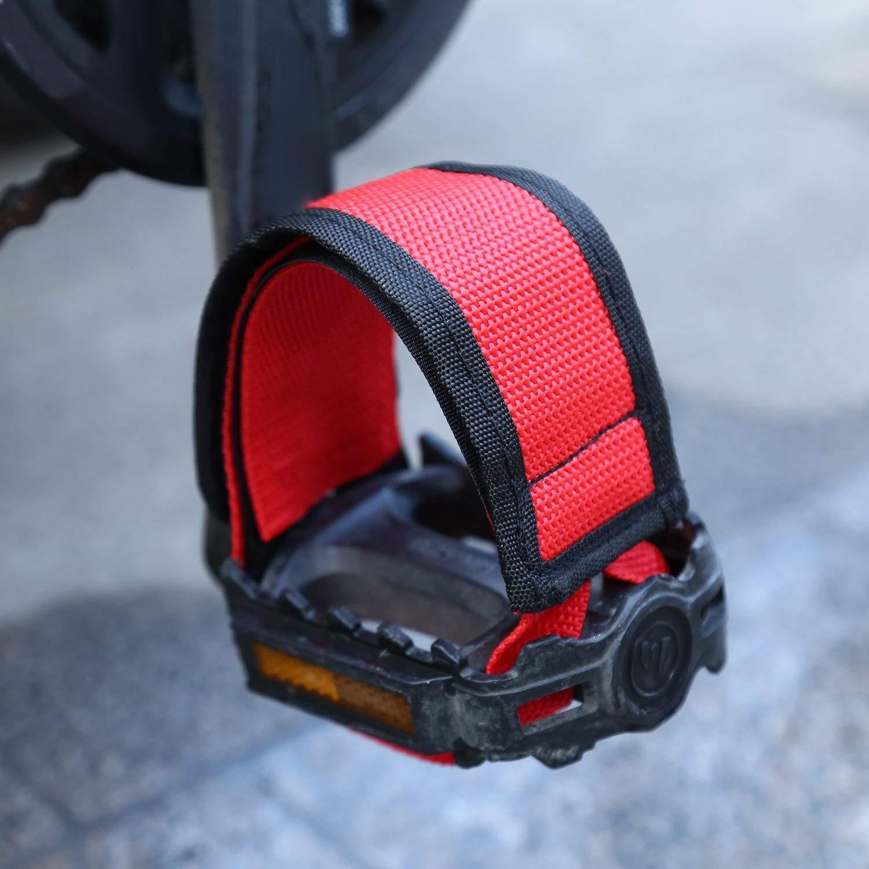 1 pair of Pedal Straps Foot Pedal Straps Kids Pedal Straps Bike Pedal Stra H1G3