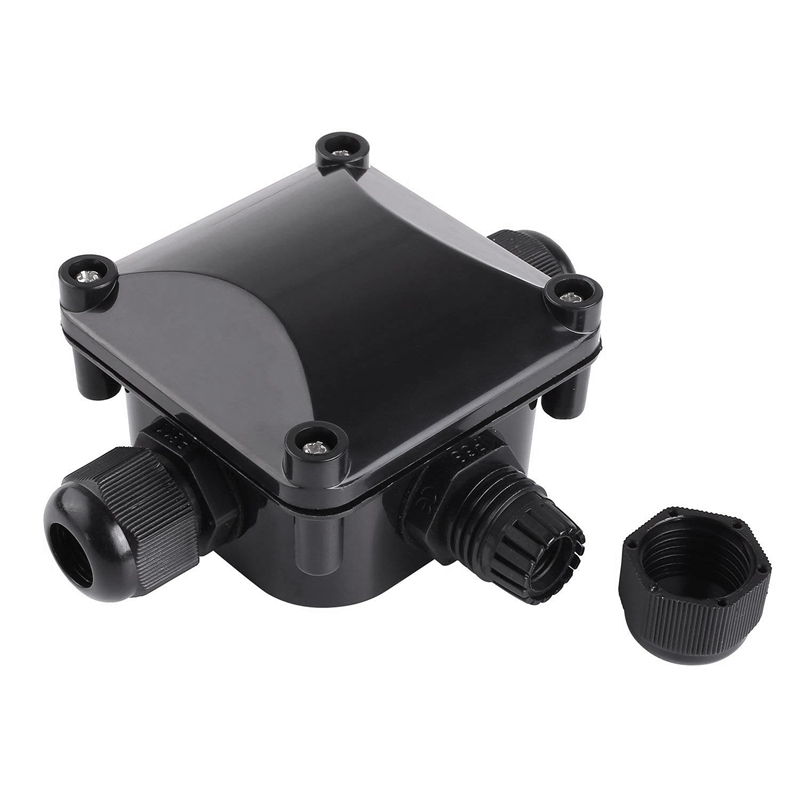 Junction Box IP68 Waterproof 3 Way Cable Connectors Outdoor//External Electric N6