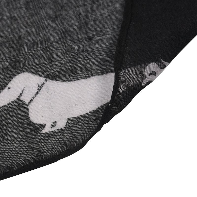 Details about  /Wurst Dackel Hund Tier Damen Schal Schal Soft Feel 180 X 90Cm T5W6