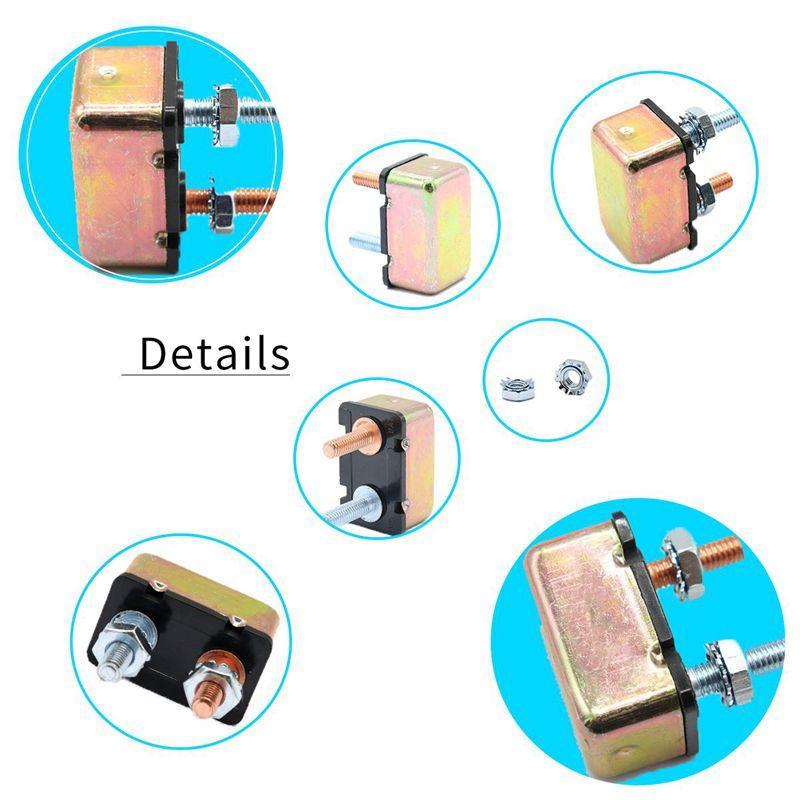Automobile marine 12//24v General circuit Breaker Automatic reset overload r T6I5