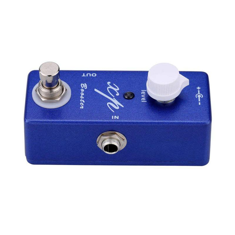 Mosky XP Booster Guitar Effect Pedal Mini Single Mini Clean Booster with Tr A7G7