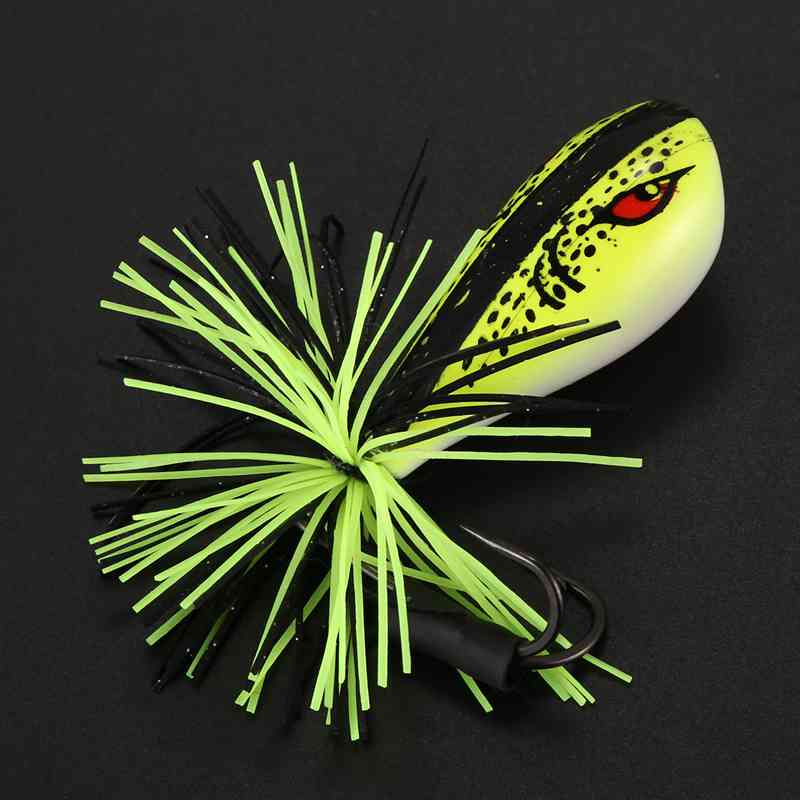 1Stk Zikade Frosch Angelköder Snakehead Köder 9 Cm 9,2 G Top-Wasser Harter  W1I1