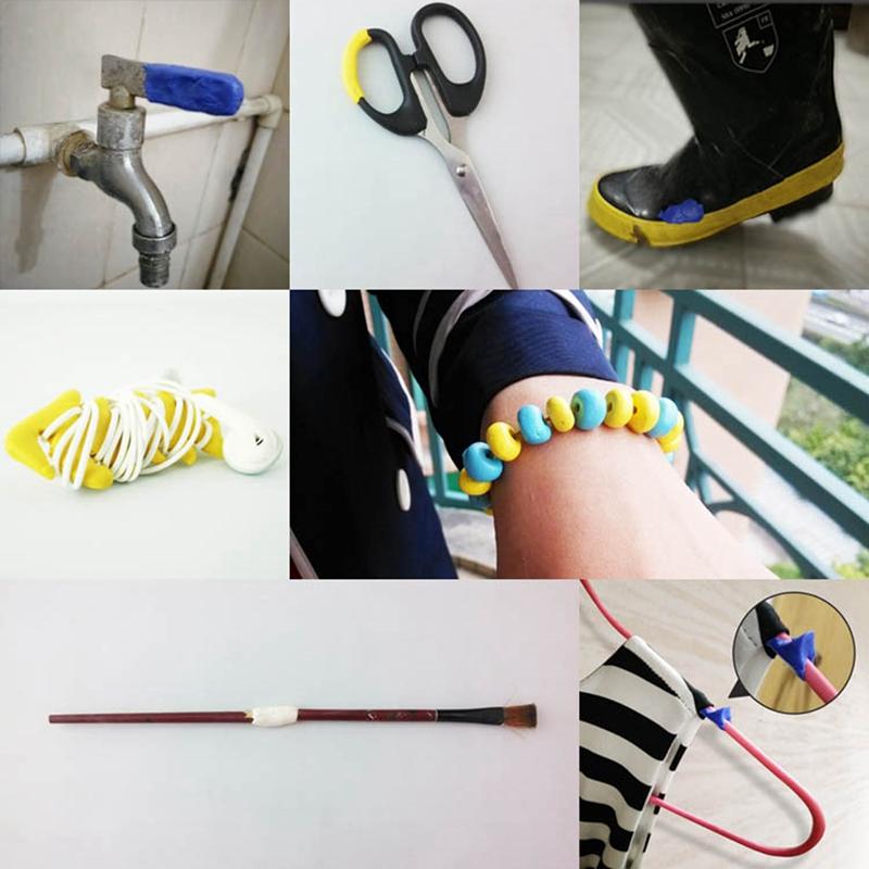 Creative Moldable Glue Practical Multifunctional Self-Setting Silicone V8V6