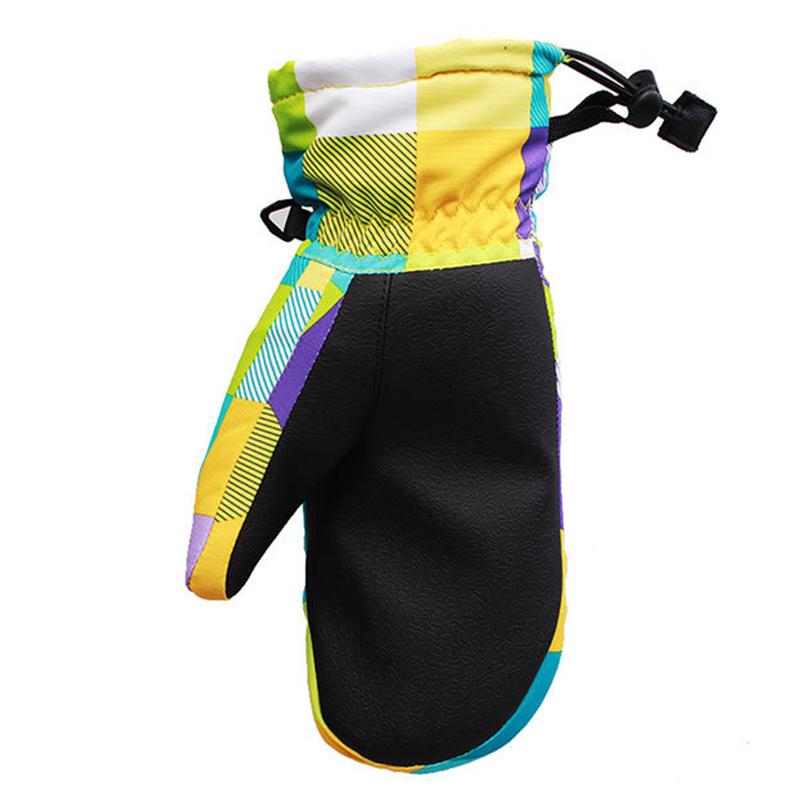 Bekleidung Skisport & Snowboarding Wild Snow Kinder Stil Blume Ski Handschuhe Winddicht Wasserdicht Warme Atmu P1Y6