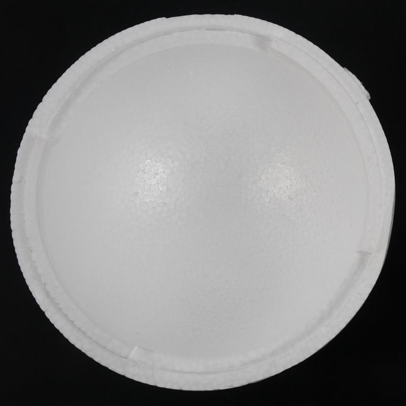 Styrofoam ball, 2 parts, diameter 25 cm G8H4 1X