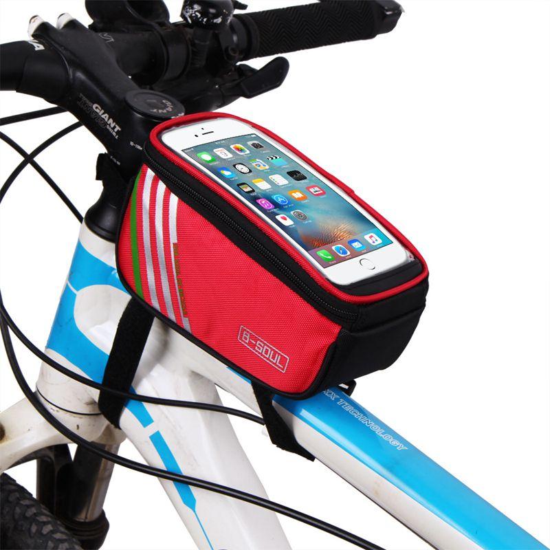 B-SOUL 1 Unid Bicicleta Al Aire Libre Ciclismo Bicicleta Marco Tubo Frontal 6W6