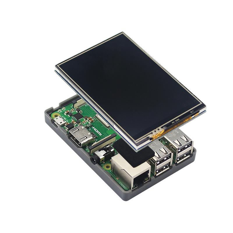1X For Raspberry Pi 3 Model B Plus Plastic Case For Raspberry Pi 3 Y9N6