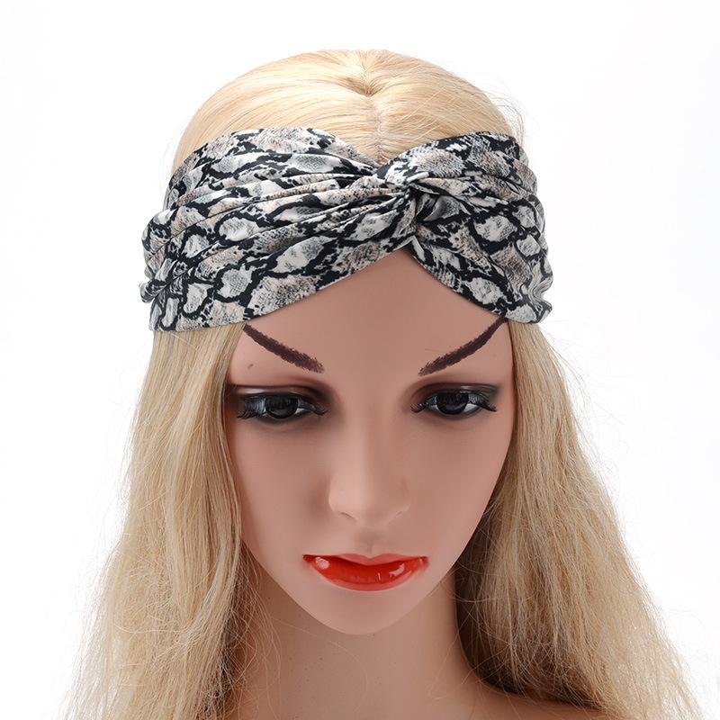 Аксессуары для волос Женская сережка для волос полоса поперек натянутые модельные заголовки женские широкий боковой гардероб аксессуары (Фото 6)