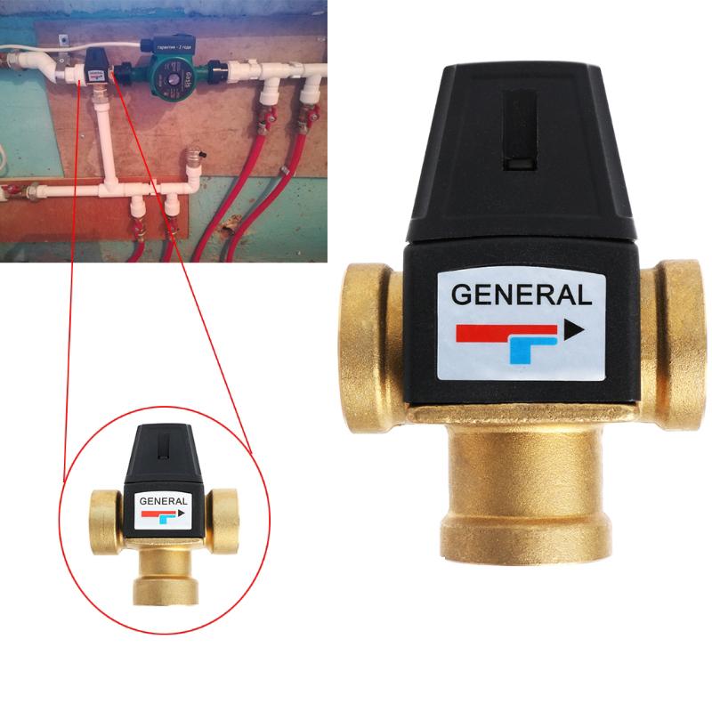 Dn25 Solar Warm Wasser Bereiter 3 Wege Thermostat Misch Ventil 3 Wege Therm B6U6