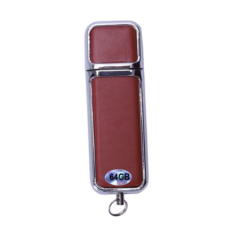 Pen Drive Capacity Keychain Leather USB 2.0 Flash Drive Pendrive Memory Sti U3P4