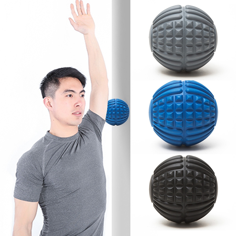 Fitness Yoga Gym Roller Health Care Effective Muscle Relax EVA Massage Ball R1C3