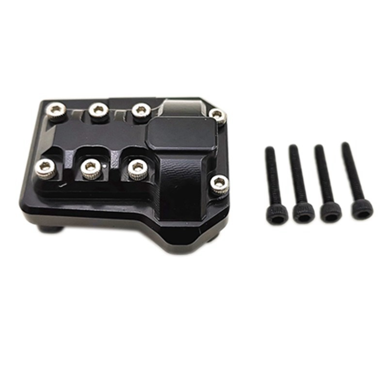 Metal Diff Cover Front Rear Axle For Traxxas Trx-4 Rc Crawler Car V3T7 1X