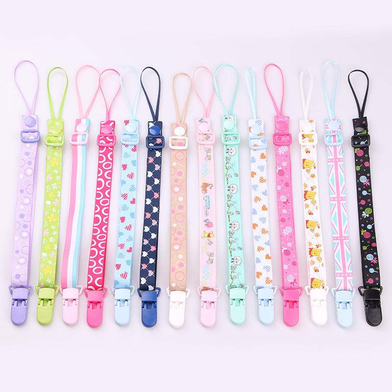 Baby Pacifier Clip Chain Dummy Clip Nipple Holder For Nipples Children P D7J7 1X