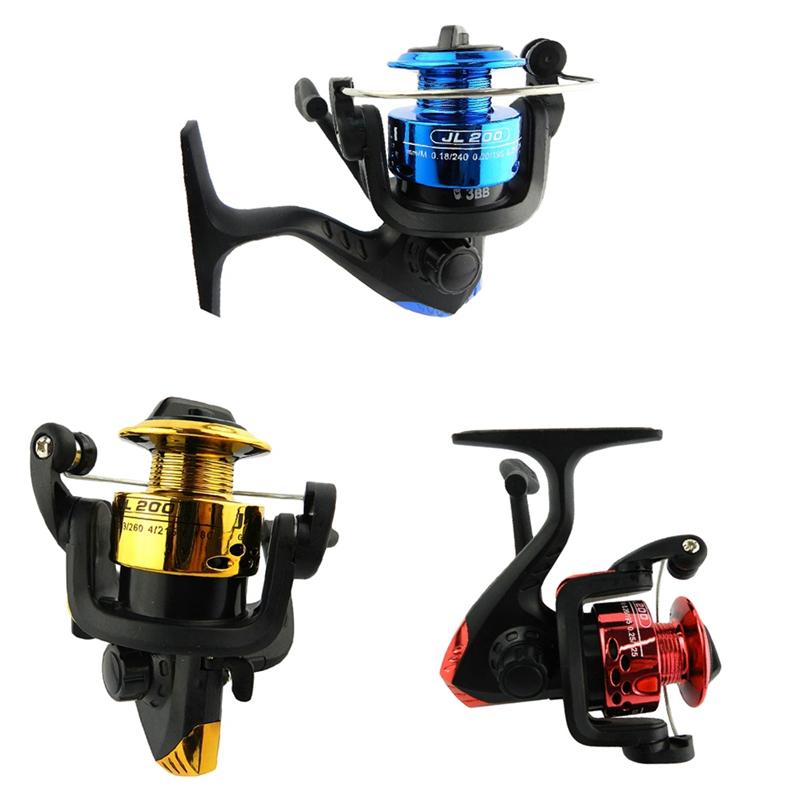 1 Spinning Reel H T7C8 Yumoshi Jl200 Electroplating Fishing Reel Gear Ratio 5.1