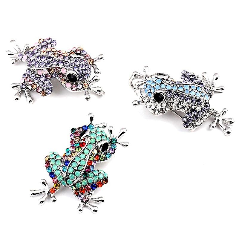Kleiner Frosch Brosche Mode Wild Pin Bekleidungs Zubehör Für Frauen SchmH6H5 1X