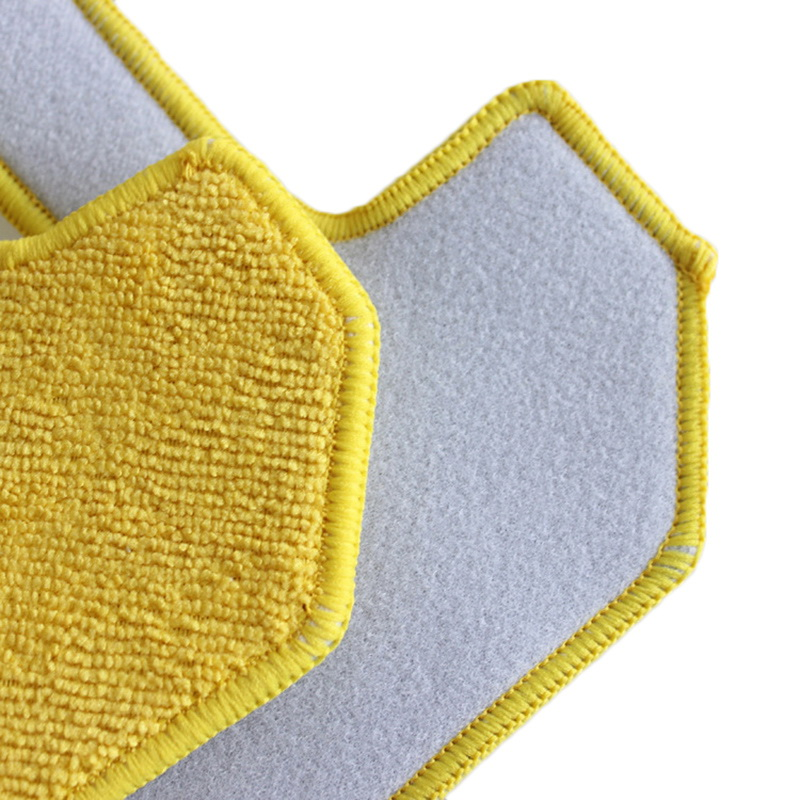 5x Microfiber Wet Rubbing Mopping Pad for Hobot 268 Window Cleaning Robot New