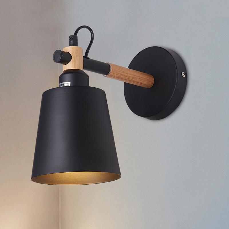 Applique Murale Chambre À Coucher Décoration De Chevet Nordic Salon Chambre D8Q8